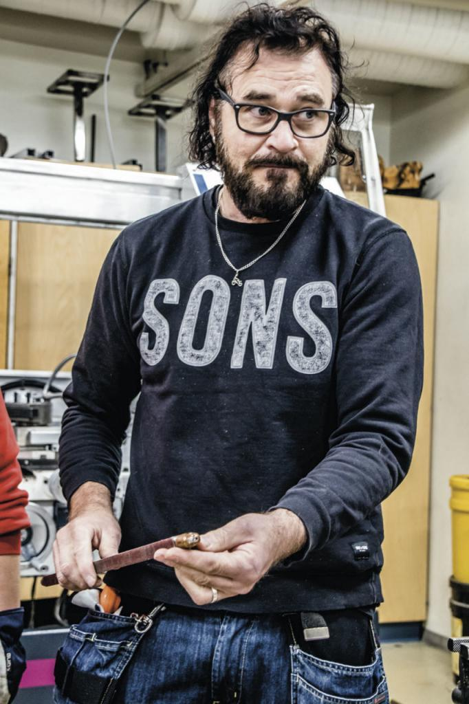 Teknisen työn lehtori Juha Oja